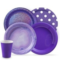 Purple Party Supplies | Coloured Party Supplies & Decorations - Who Wants 2 Party Australia