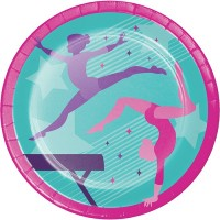 Gymnastics Party Supplies | Gymnastics Themed Birthday Party - Who Wants 2 Party Australia