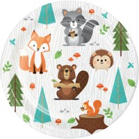 Woodland Animals Party Supplies | Woodland Birthday Decorations - Who Wants 2 Party