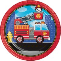 Fire Engine Party Supplies | Fireman Firefighter Party Supplies - Who Wants 2 Party Australia